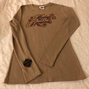 Harley Davidson light thermal T-shirt